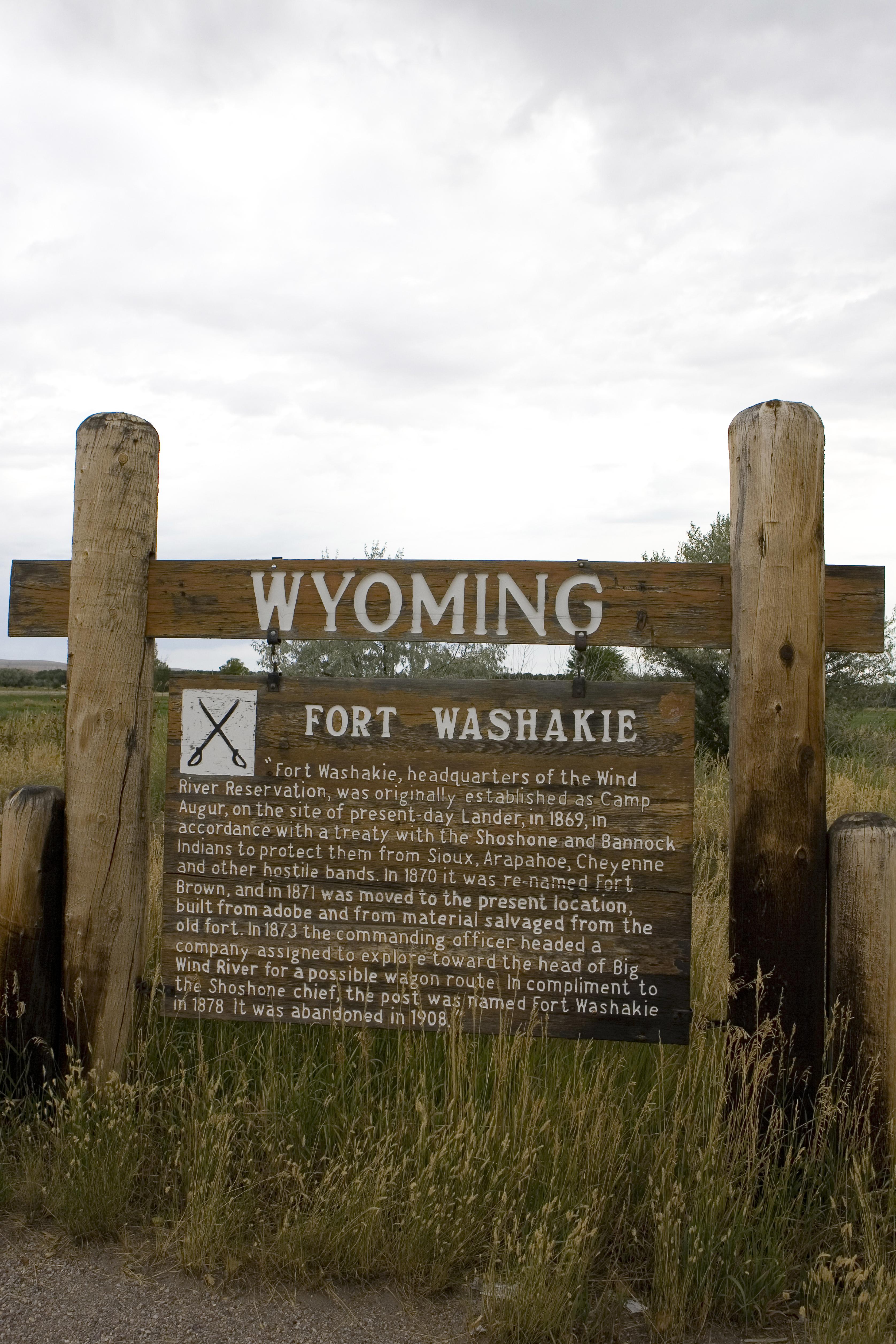 WY-009 Fort Washakie