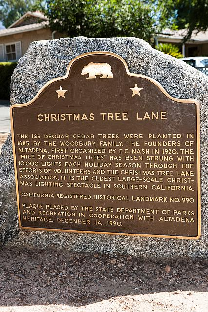 CA-990 Christmas Tree Lane