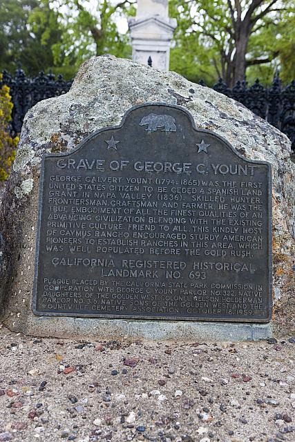 CA-693 Grave of George C. Yount