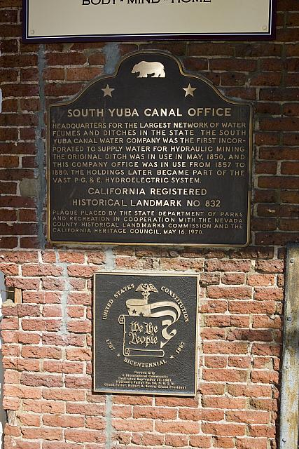 CA-832 South Yuba Canal Office