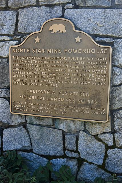 CA-843 North Star Mine Powerhouse