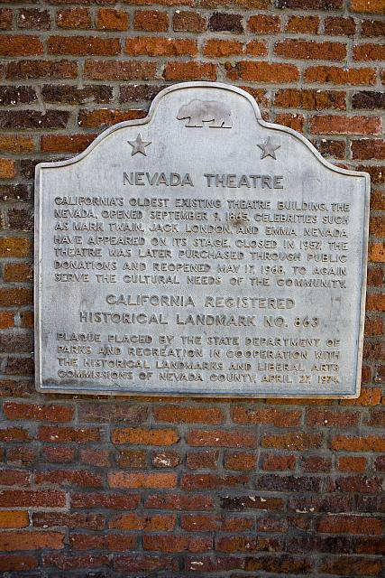 CA-863 Nevada Theatre