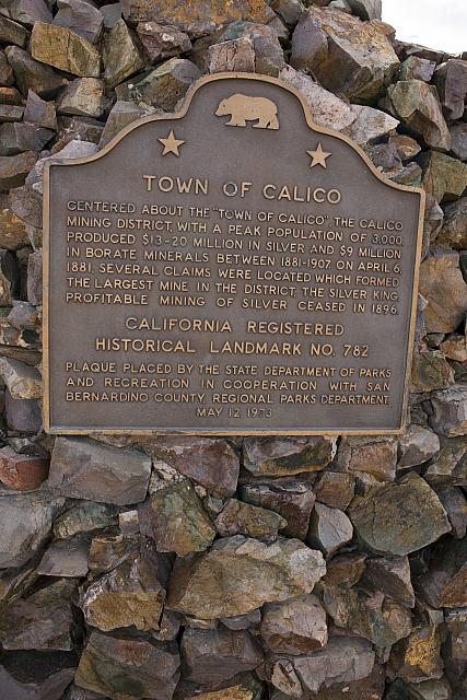 CA-782 Town of Calico