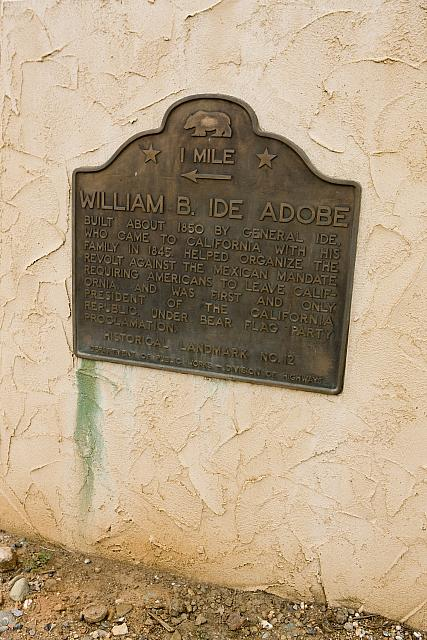 CA-12 William B. Ide Adobe