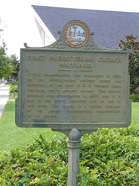 FL-F49 First Presbyterian Church Maitland