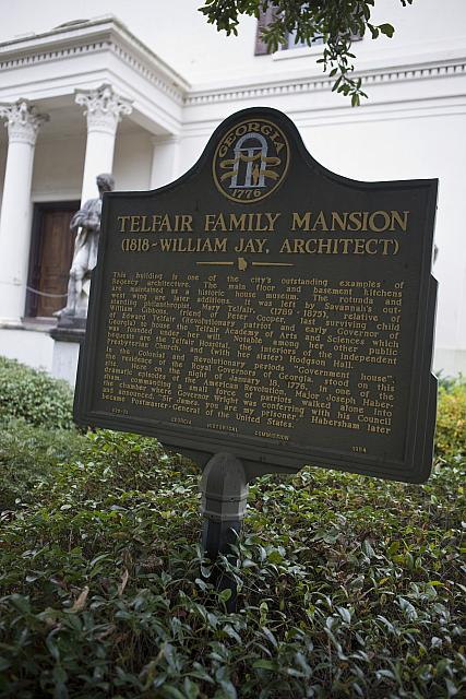 GA-25-28 Telfair Family Mansion (1818 - William Jay, Architect)
