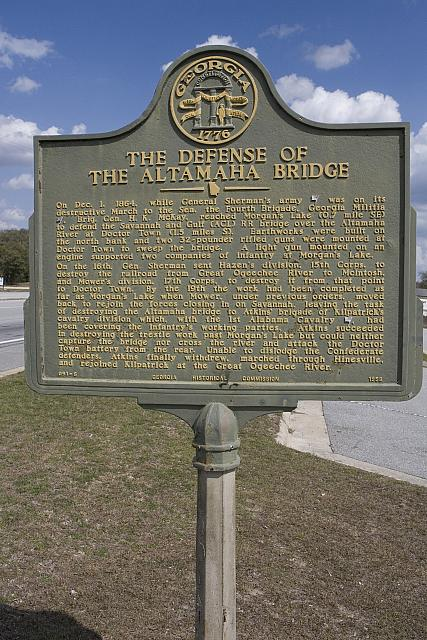 GA-091-6 The Defense of the Altamaha Bridge