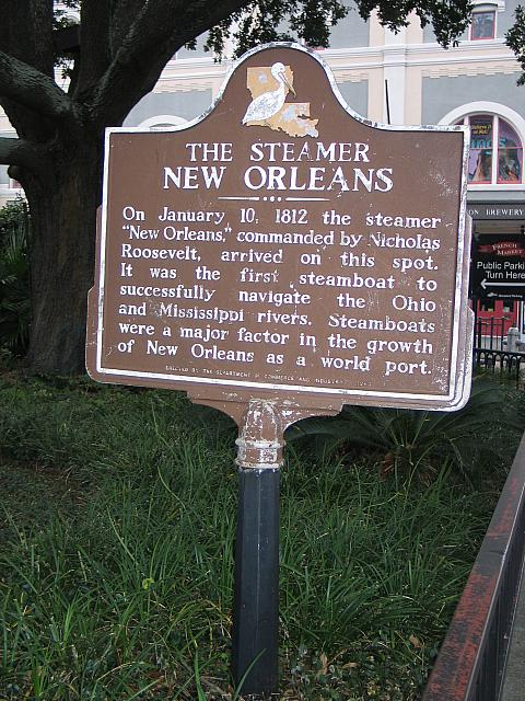 LA-001 The Steamer New Orleans