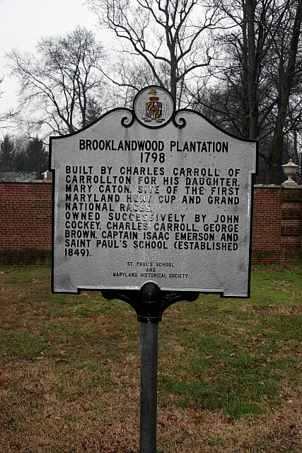MD-019 Brooklandwood Plantation 1798