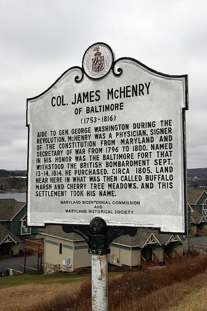 MD-005 Col. James McHenry of Baltimore (1753-1816)