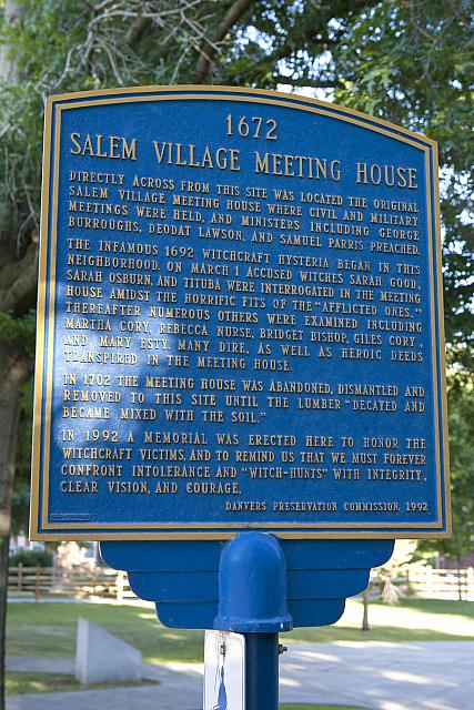MA-010 Salem Village Meeting House - 1672