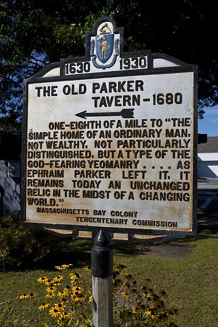 MA-007 The Old Parker Tavern - 1680