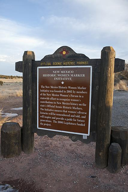 NM-019 New Mexico Historic Women Marker Initiative