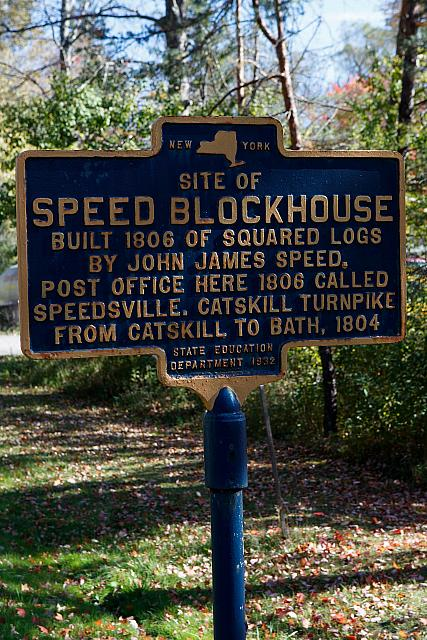 NY-038 Site of Speed Blockhouse