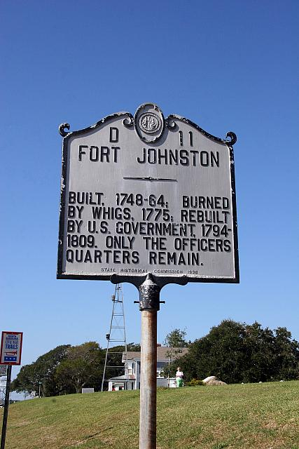 NC-D11 Fort Johnston