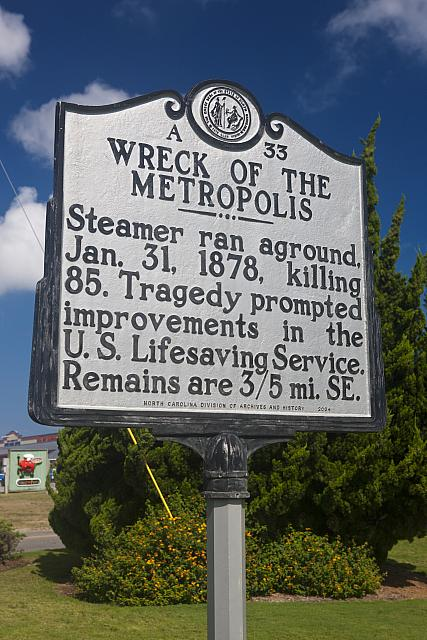 NC-A33 Wreck of the Metropolis