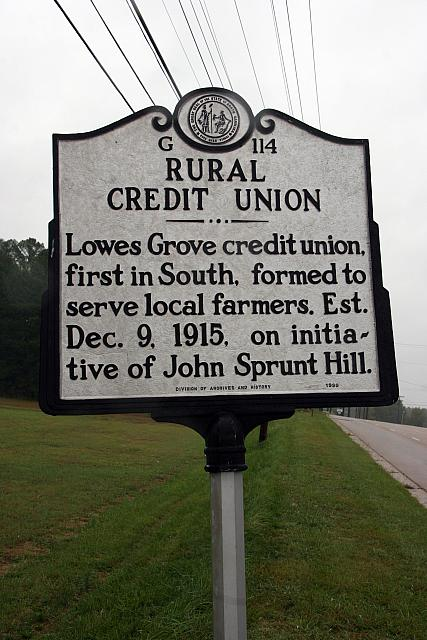 NC-G114 Rural Credit Union