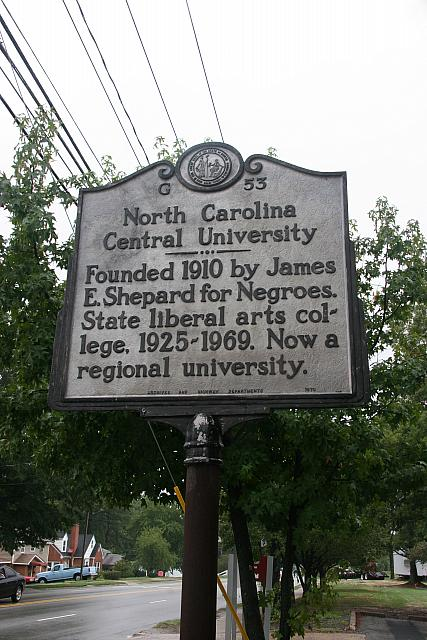 NC-G53 North Carolina Central University