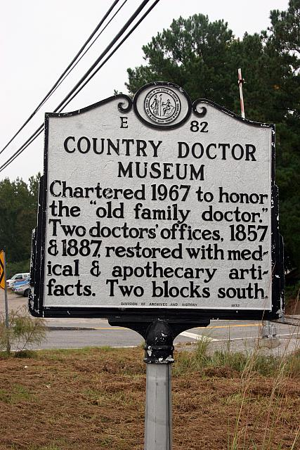 NC-E82 Country Doctor Museum