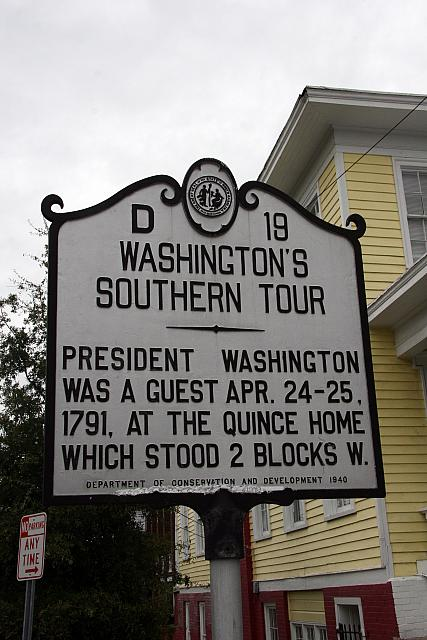 NC-D19 Washingtons Southern Tour