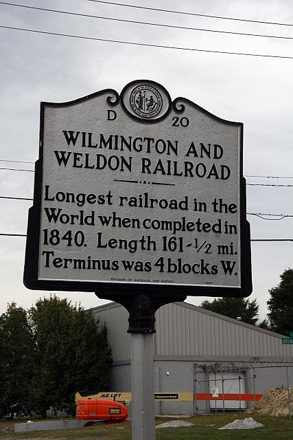NC-D20 Wilmington and Weldon Railroad