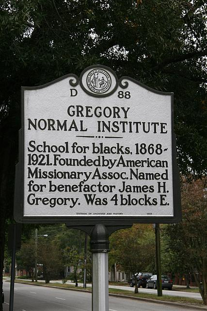 NC-D88 Gregory Normal Institute
