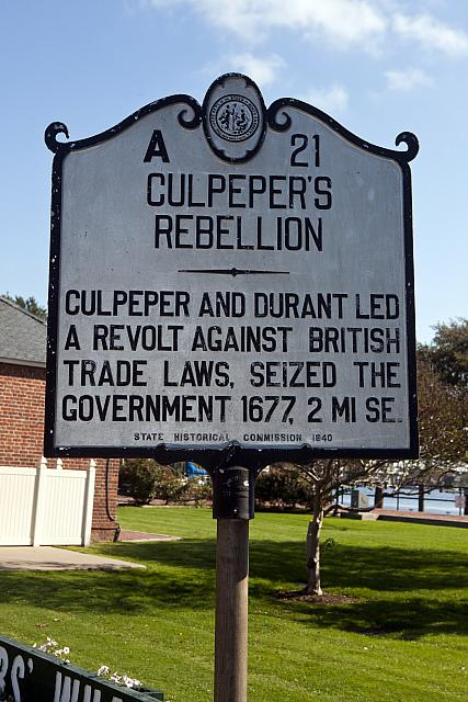 NC-A21 Culpepers Rebellion