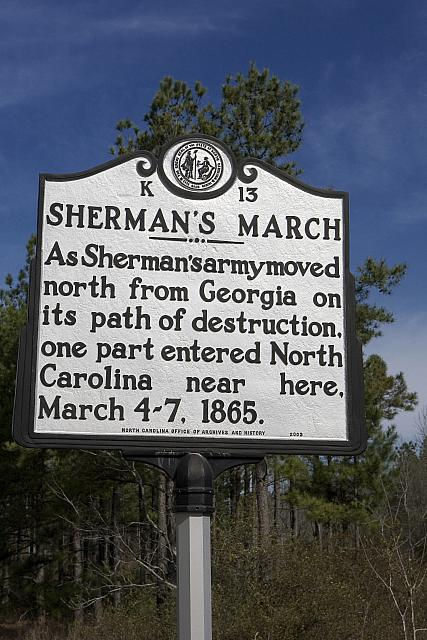 NC-K13 Shermans March