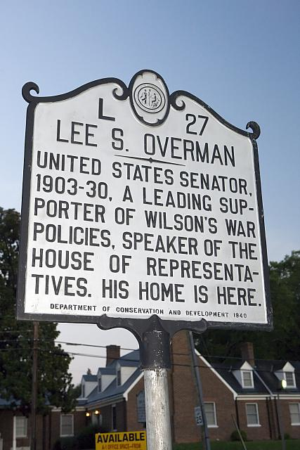 NC-L27 Lee S. Overman