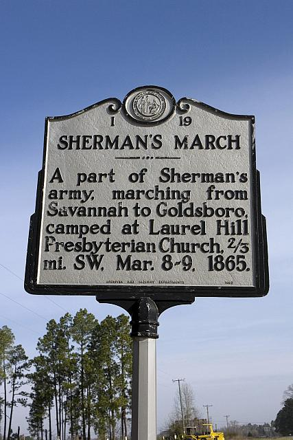 NC-I19 Shermans March