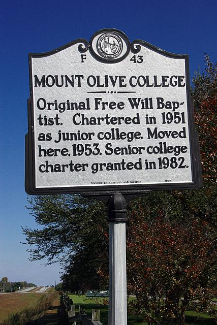 NC-F43 Mount Olive College