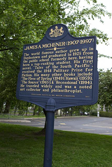 PA-015 James A. Michener (1907-1997)