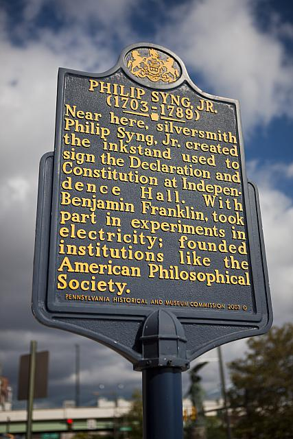 PA-072 Philip Syng, Jr. (1703-1789)