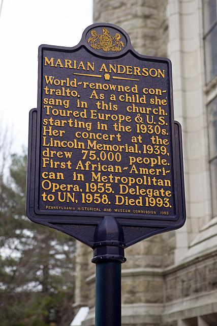 PA-110 Marian Anderson