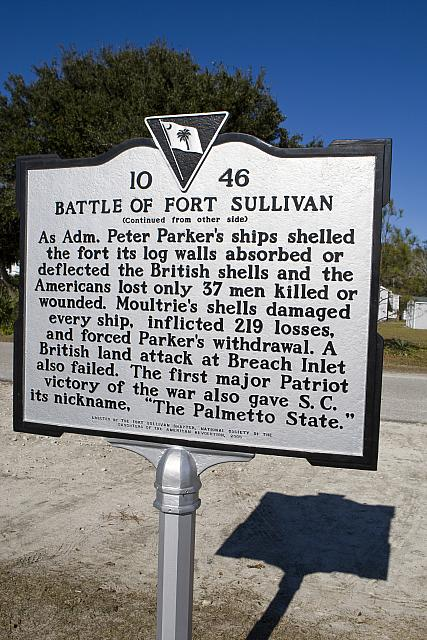 SC-10-46 Battle of Fort Sullivan