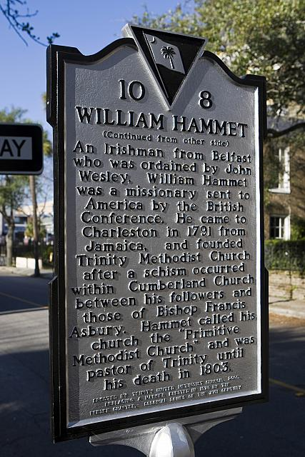 SC-10-8 Trinity Methodist Church Original Site William Hammet A