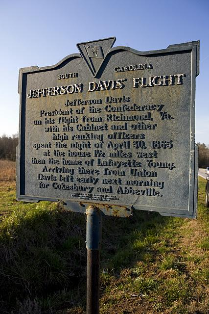 SC-30-1 Jefferson Davis Flight
