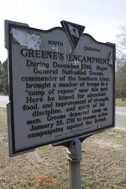 SC-35-24 Greenes Encampment
