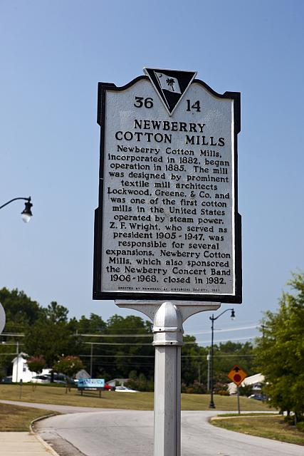 SC-36-14 Newberry Cotton Mills