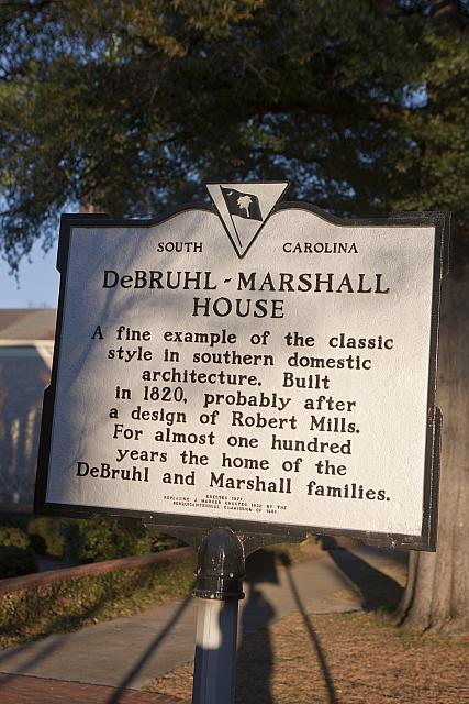 SC-40-15 DeBruhl-Marshall House