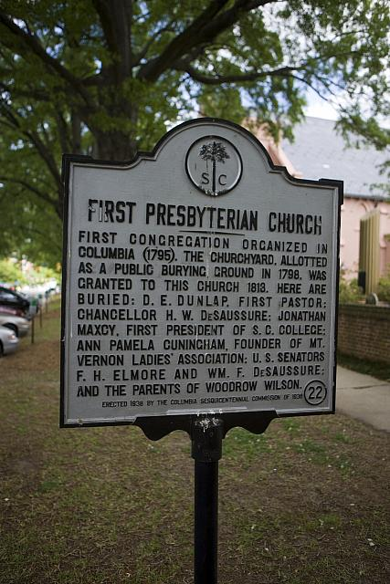 SC-40-22 First Presbyterian Church
