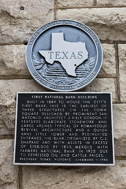 TX-1785 First National Bank Building