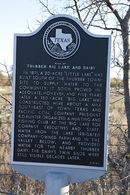 TX-4902 Site of Thurber Big Lake and Dairy
