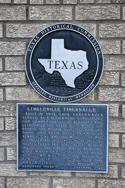 TX-6255 Lingleville Tabernacle