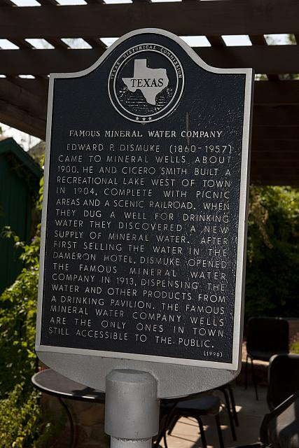 TX-1568 Famous Mineral Water Company