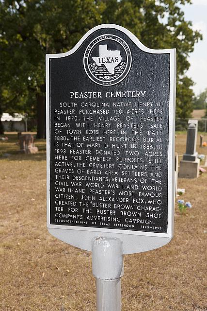 TX-3697 Peaster Cemetery