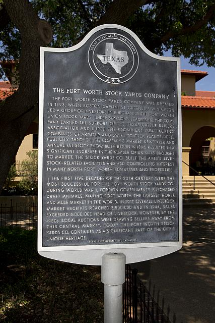 TX-2032 The Fort Worth Stock Yards Company