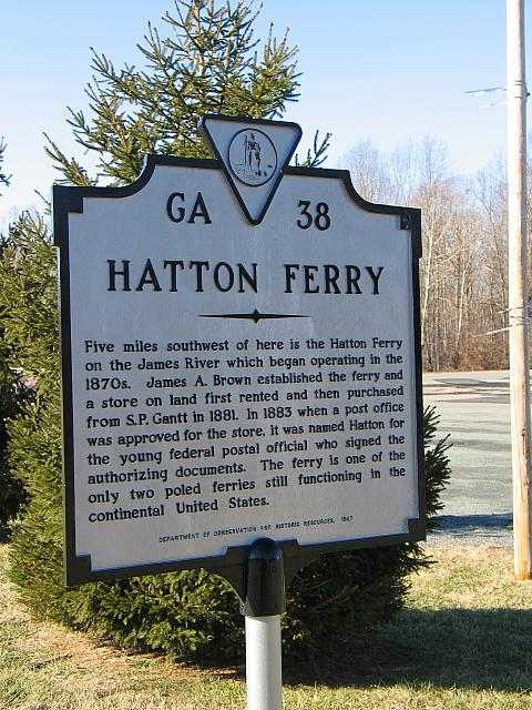 VA-GA38 Hatton Ferry