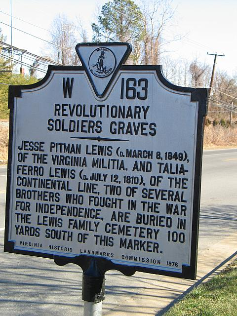 VA-W163 Revolutionary Soldier Graves
