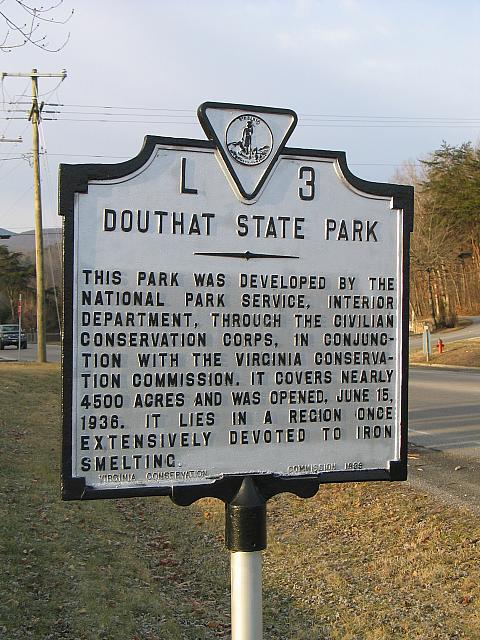 VA-L3 Douthat State Park